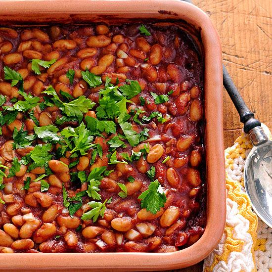 baked white beans