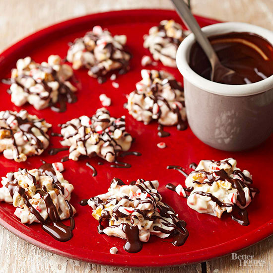 peppermint pretzel candies - Recipes For Christmas Candy