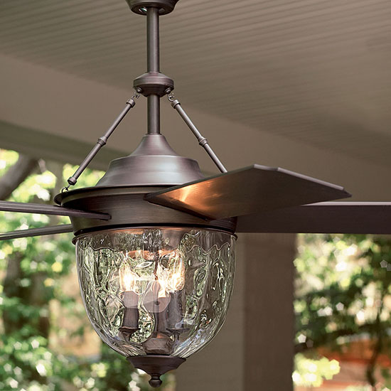 Deal of the Day: 35% Off Rustic Outdoor Ceiling Fan