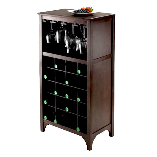 Deal of the Day: 55% Off Ancona Modular Wine Cabinet
