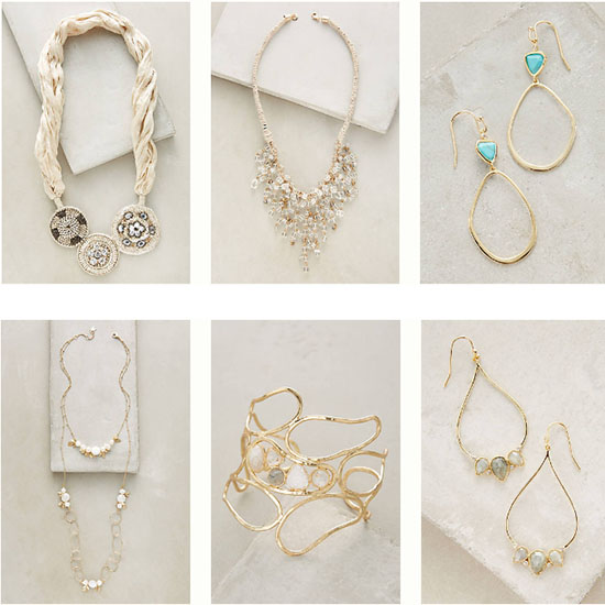 Deal of the Day: Up to 70% Off at Anthropologie's Jewelry Sale