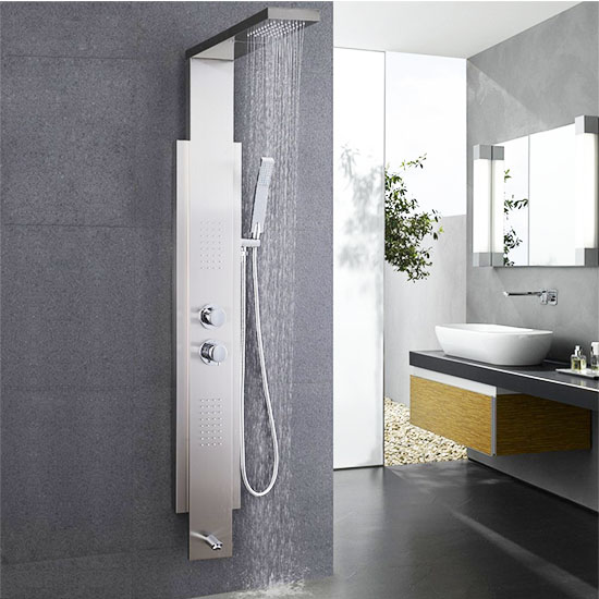 Deal of the Day: $450 Off this Kes Steel Shower Panel