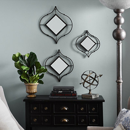 Deal of the Day: Decorative Cutout Mirrors