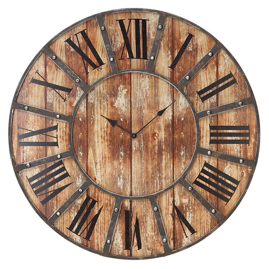 Deal of the Day: 62% Off This Rustic Wall Clock