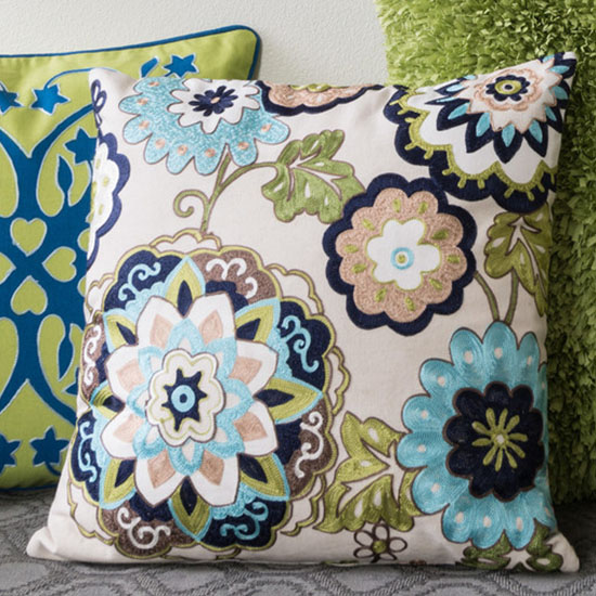 Deal of the Day: Up to 35% Off Botanical Print Pillows