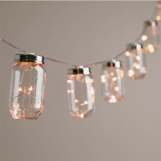 Deal of the Day: 50% Off World Market Mason Jar String Lights