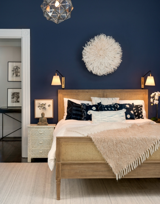 Interior Pictures Of Painted Bedrooms bedroom paint color trends for 2017 rich navy