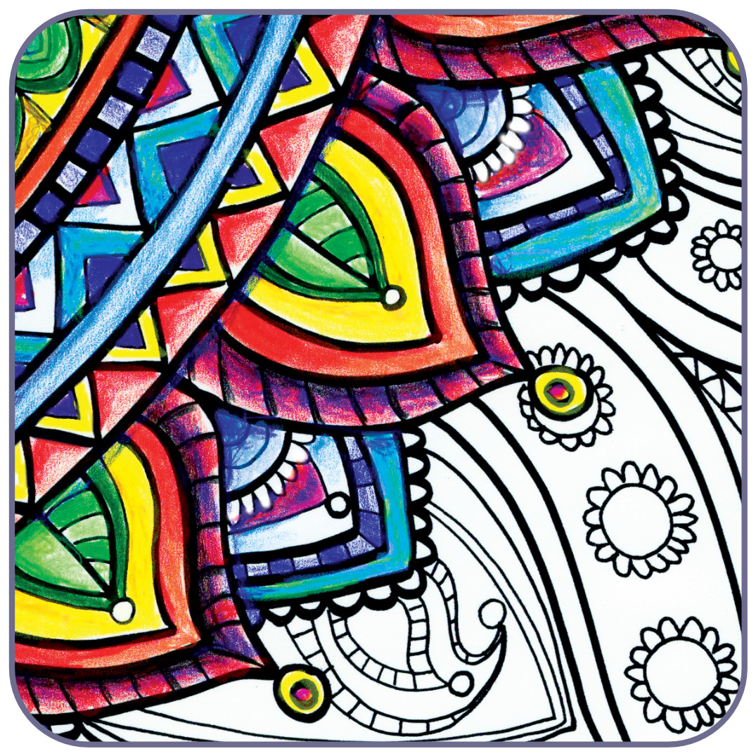 Adult Coloring Pages | Posh Coloring Studio