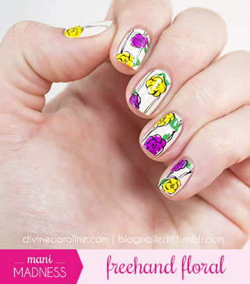Freehand Floral