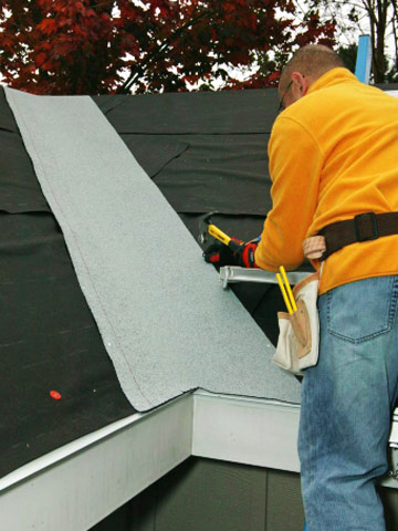 Drive Nails Enlarge Image. Drive Nails Enlarge Image. Installing Roll  Roofing How To Install Specialty Roof Materials ...