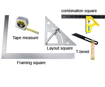 Measuring and Layout Tools - Woodworking Tools - Carpentry ...