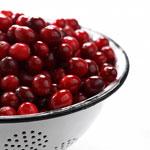 cranberries antioxidant food