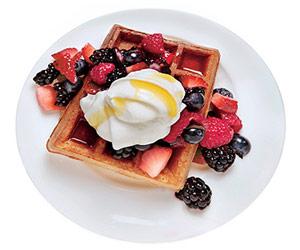 Maple Berry Waffle