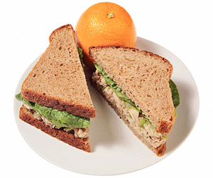 Balsamic Tuna Salad Sandwich