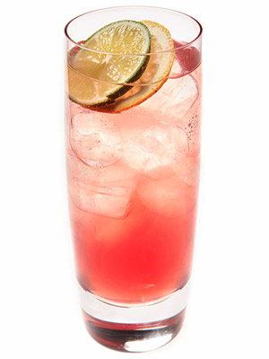 Spiked Pomegranate Lemonade