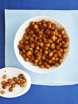 Indian-Spiced Roasted Chickpeas