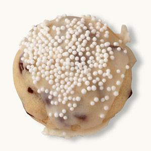 Chocolate-Chip Christmas Balls
