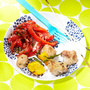 Grilled Red Pepper Salad