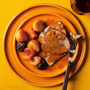 Moroccan Pot Roast with Potatoes and Carrots