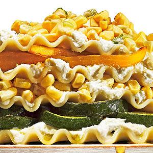 No-Bake Summer Lasagna with Corn Relish