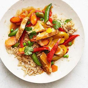 Summer Sesame-Chili Stir-Fry