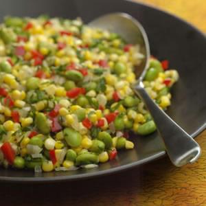Herbed Corn & Edamame Succotash