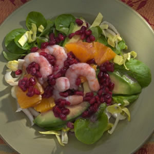 Endive & Pomegranate Salad