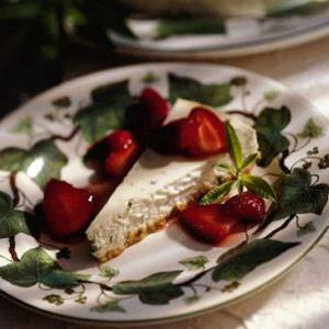 Lemon Verbena Cheesecake