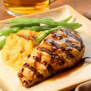 Maple Glazed Chicken Breasts