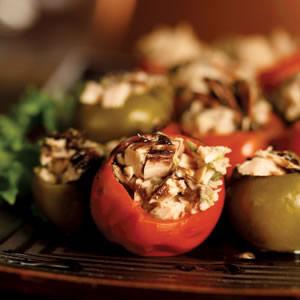 Tuna-Stuffed Peppers