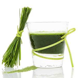 Spinach, Scallion, and Spirulina Soup