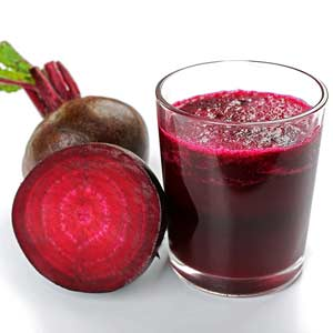 Lemon Beet with Ginger Soup