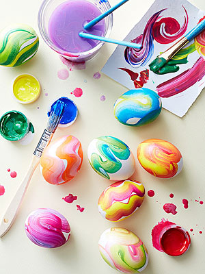 Swirly Eggs