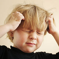 child itching scalp