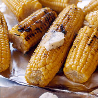 Grilled Corn with Parmesan Butter Before your head out on your next family camping trip, you must check out these 26 camping recipes. We will want to try these family-friendly recipes ranging from main entrees to desserts and snacks. These meal ideas are sure to make your next campout a great success!