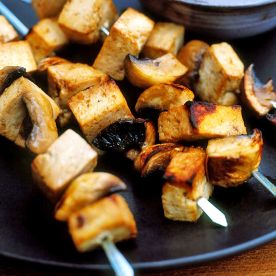 Pressed Tofu Kebabs, Thai-style