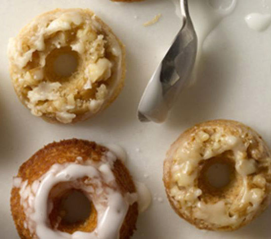 Healthy Homemade Rum Donuts