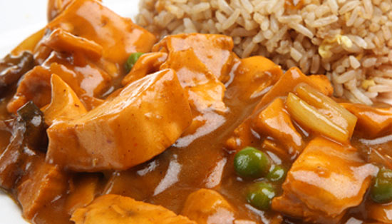 Chicken Saute with Rice and Peas