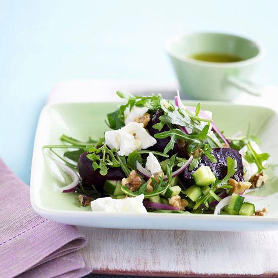 Roasted Beet, Fennel, and Arugula Salad