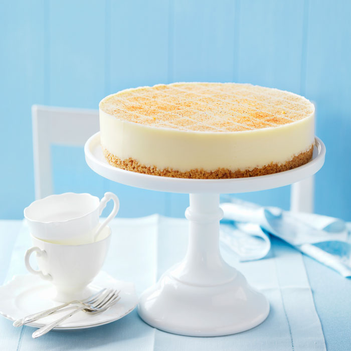 Katie Brown's Easy Cheesecake with Graham Cracker Crust