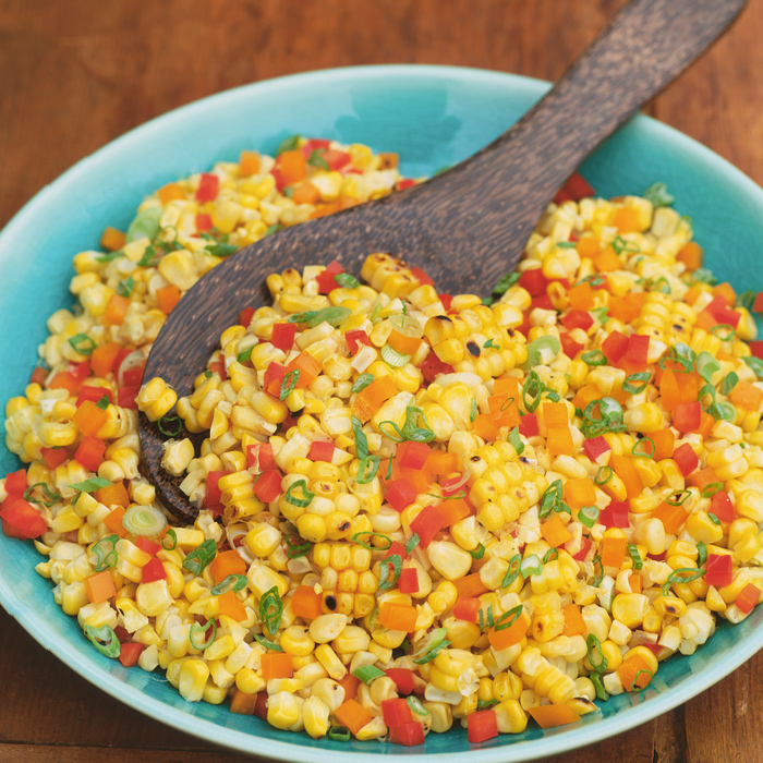 Corn Recipe with Mustard Seeds