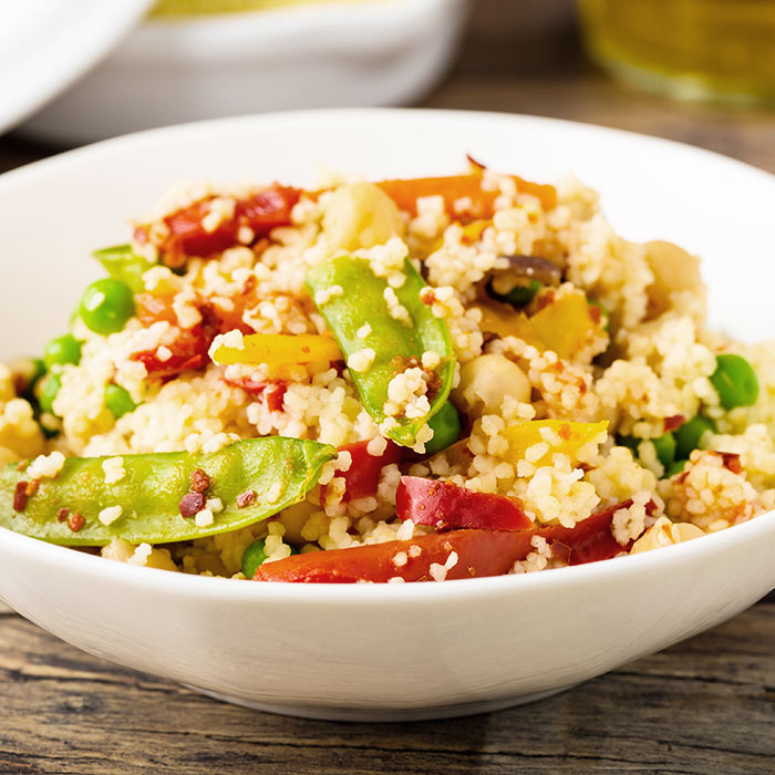 Chickpea and Vegetable Couscous