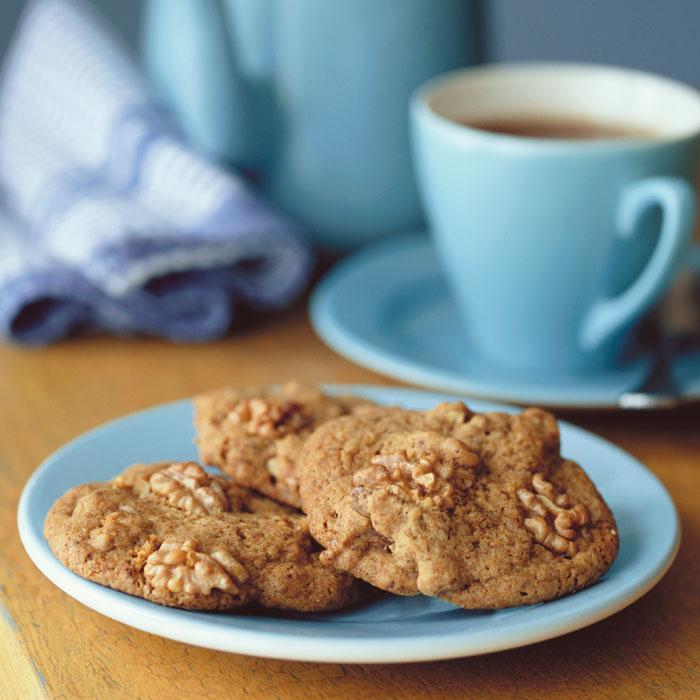 Walnut Rosemary Cookies
