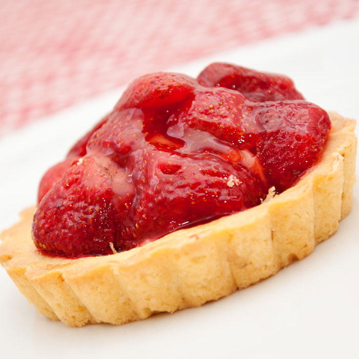 Montel Williams' Strawberry Rhubarb Tart