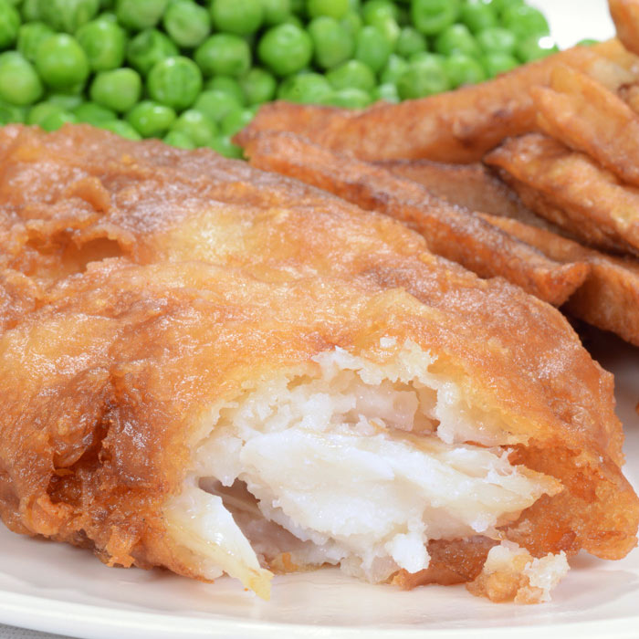 Crispy Oven-Fried Cod Fish