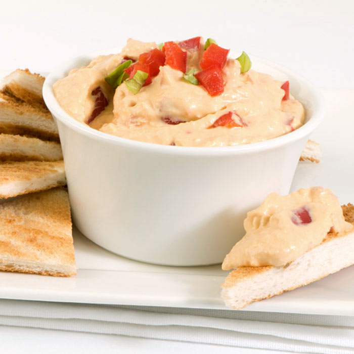Spiced Red-Pepper Hummus