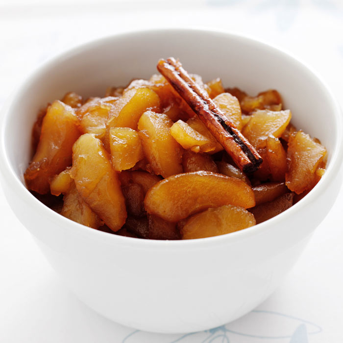 Apple-Cinnamon Compote with Toasted Oats