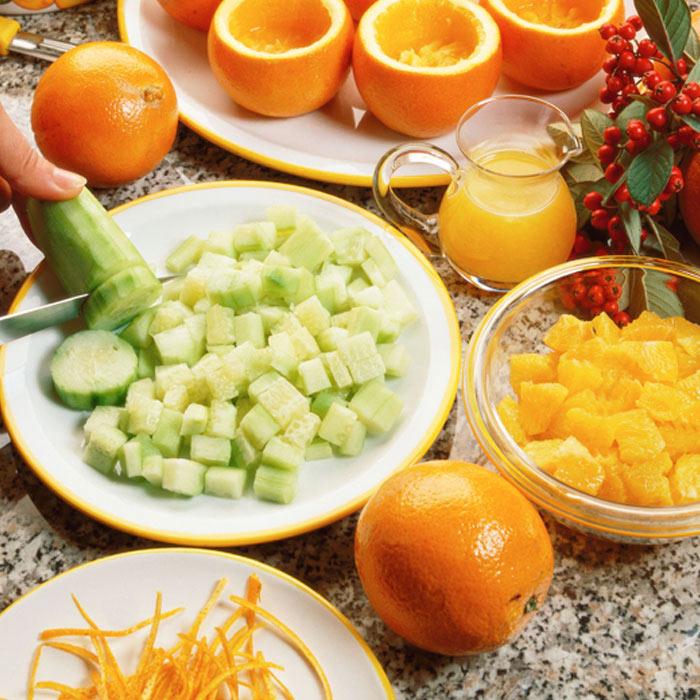 Sicilian Orange-Cucumber Salad
