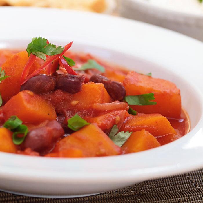 Hearty Three-Bean Chili