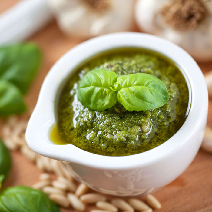 Roasted Pepper Basil Pesto Sauce from Montel Williams
